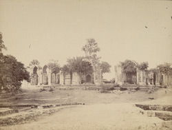 General view of the uncompleted tomb of Islam Shah (commonly known as Salim Shah), Sasaram. 1003482